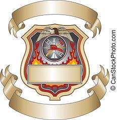 消防人員, iii, 盾