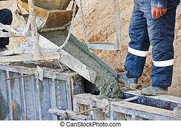 混凝土, 工作