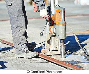 混凝土, 工業, 操練