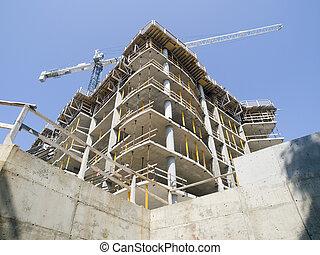 混凝土, 建設
