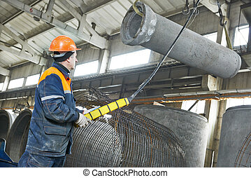 混凝土, 管子, 生產