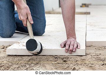 混凝土, 适合, 平板