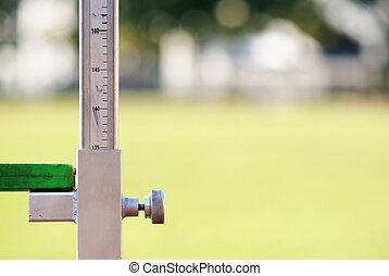 測量, 高, 体育運動, 跳躍