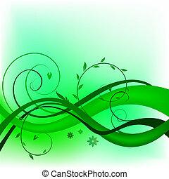 漩渦, 綠色, 設計