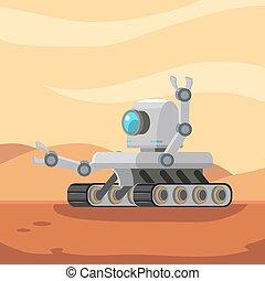 漫游者, 機器人, 火星