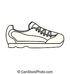 潛行, 鞋子, 圖像, 圖象