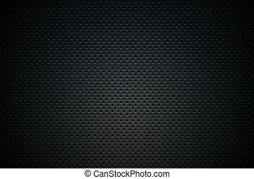濾網, 黑色的背景