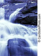 瀑布, 日本花園