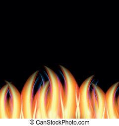火, 摘要, 矢量