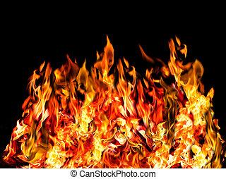 火, 熱, 黑色