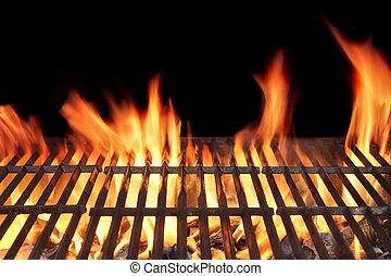 火, 燒烤野餐烤