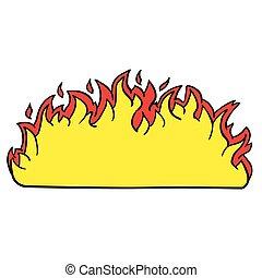 火, 邊框