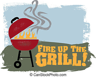 火, grill!, 向上, bbq