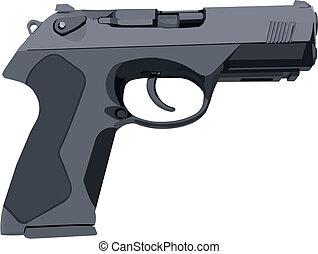 灰色, 槍, 標准