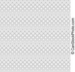 灰色, 网, 圖案, ligh, seamless, halftone, design.