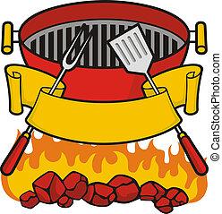 烤架, barbeque