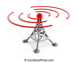 無線電通訊, 塔