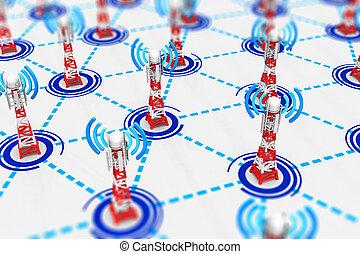 無線電通訊, 技術