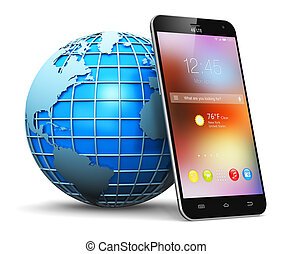無線電通訊, 概念, 全球