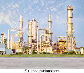 煉油廠, 工廠