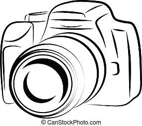 照像機, 外形, 圖畫
