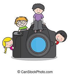 照像機, 孩子