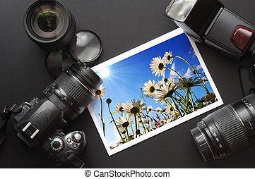 照像機, 生活, 仍然