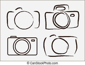 照相, 照像機