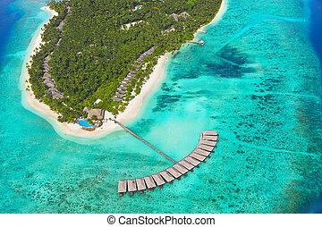熱帶的島, 馬爾代夫