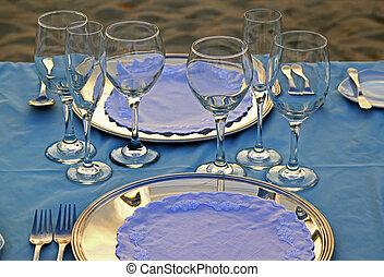 熱帶, 餐具, 06, 婚禮
