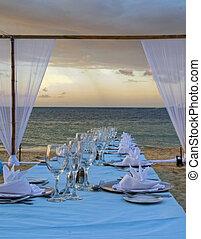 熱帶, 餐具, 37, 婚禮