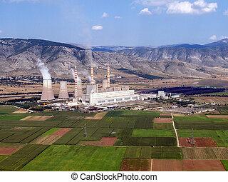 燃料, 植物, 空中, 化石, 力量