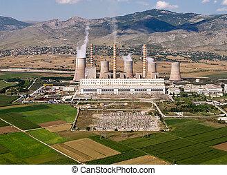 燃料, 空中, 化石, 能源廠