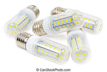 燈泡, 白色, 領導, 背景