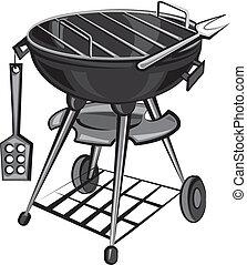 燒烤野餐, 用具, 烤架