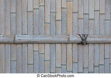 牆, 圖案, 竹子, 背景