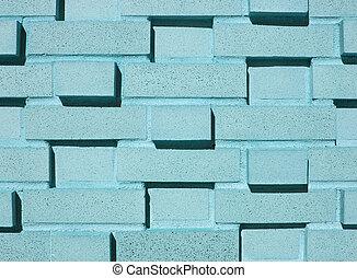 牆, 多層, 磚, 液體