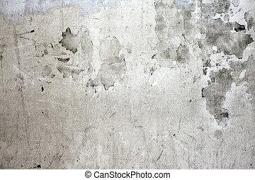 牆, 混凝土, 被爆裂, grunge