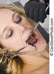 牙齒的考試