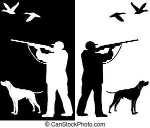 狗, 獵人