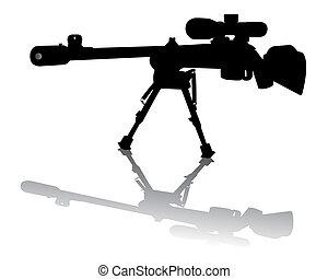 狙擊手, 步槍