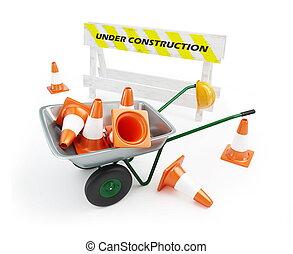 獨輪手車, 正在建設中