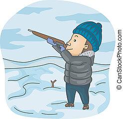 獵人, 冬天
