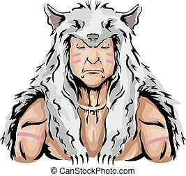 獵人, 插圖, 美國人, 狼人, 生來