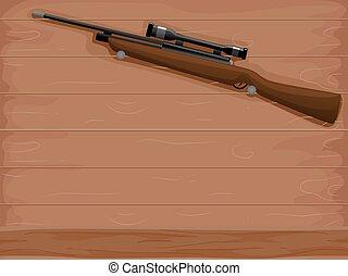 獵人, 步槍