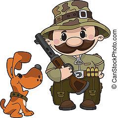 獵人, 狗