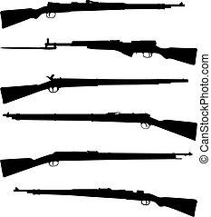 獵槍, 六, 老