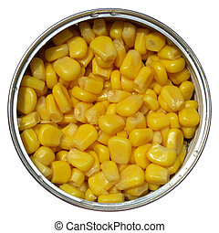 玉米, 玉米, 罐頭能
