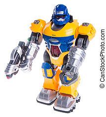 玩具机器人, 背景