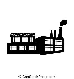 玷污, 黑色半面畫像, 工廠, 煙, 圖象